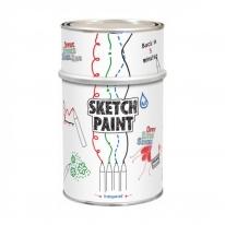 Покрытие белое, глянцевое MagPaint Sketchpaint 0,5 л