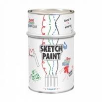 Покрытие белое, матовое MagPaint Sketchpaint 0,5 л