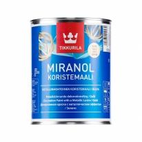 Краска декоративная металик Tikkurila Miranol Koristemaali 0,1 л (серебро)