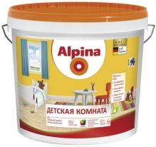 Краска полуматовая для детских комнат Alpina 10 л