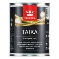 Краска перламутровая укрывная Tikkurila Taika 0,9 л (серебро)