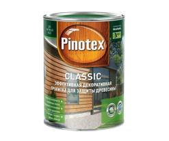 Пропитка фасадная для дерева Pinotex Classic 10 л
