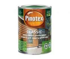 Пропитка фасадная для дерева Pinotex Classic 1 л (калужница)