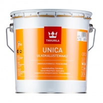 Краска полуглянцевая для метала, дерева, пластика Tikkurila Unica 0,9 л (база С)