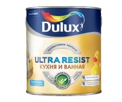 Краска для влажных, Кухня и ванная Dulux Ultra Resist 2,5 л (база BW)