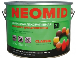 Пропитка для древесины Neomid Bio Color Classic 0,9 кг (махагон)