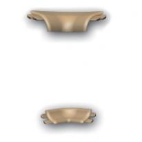 Угол для плинтуса Prexa LD A-D5NW1-55 Металлик 1 внутренний (2шт/уп)