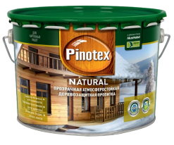 Пропитка прозрачная для древесины Pinotex Natural 1 л