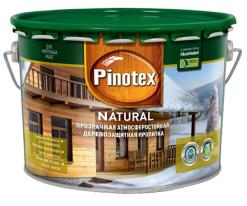 Пропитка прозрачная для древесины Pinotex Natural 10 л
