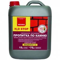 Пропитка по камню универсальная, влагоизолятор Neomid Н2О-Stop 1 л