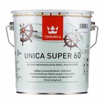 Лак яхтный полуглянцевый Tikkurila Unica Super 9 л
