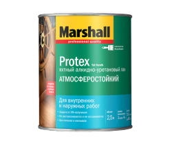 Лак водостойкий Marshall Protex Yat 0,75 л полуматовый