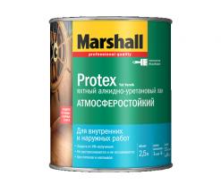 Лак водостойкий Marshall Protex Yat 2,5 л полуматовый