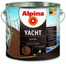 Лак яхтный Alpina Yachtlack 2,5 л