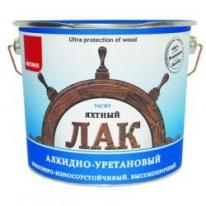 Лак полуматовый, Яхтный Neomid 0,75 л