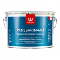 Краска для металлических крыш Tikkurila Panssarimaali 2,7 л (база А)