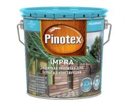 Пропитка глубокого проникновения для скрытых конструкций Pinotex Impra 10 л