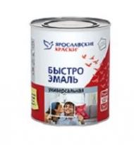 Эмаль универсальная Ярославские Краски Быстроэмаль 2 кг (черная)