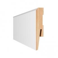Плинтус Aberhof Art МДФ 1001 белый под покраску 100х16х2400 мм
