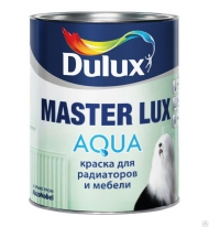 Краска акриловая воднодисперсионная для радиаторов и мебели Dulux Master Lux Aqua 2,5 л (BW)