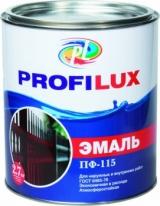 Эмаль глянцевая Profilux ПФ-115 0,9 кг (черная)