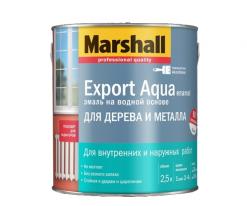 Эмаль универсальная Marshall Export Aqua Enamel 0,5 л (матовая, черная)