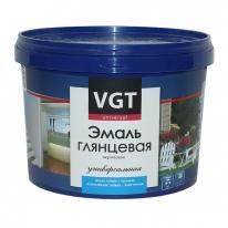 Эмаль супербелая акриловая, глянцевая VGT ВДАК 1179 1 кг
