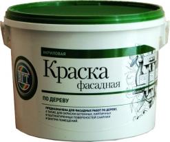Краска белая фасадная по дереву VGT ВДАК 1180 15 кг