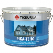 Краска акриловая латексная матовая Тиккурила Пика-Техо / Tikkurila Pika-Teho 9 л (база А)
