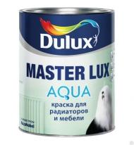 Краска акриловая воднодисперсионная для радиаторов и мебели Dulux Master Lux Aqua