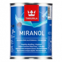 Эмаль глянцевая алкидная универсальная Tikkurila Miranol 2,7 л (база А)