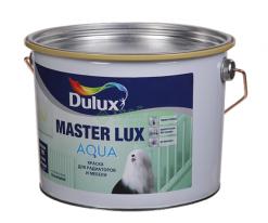 Эмаль акриловая Глянцевая, Dulux Master Lux Aqua 70 1 л (база BW) белый