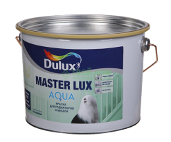 Эмаль акриловая Глянцевая, Dulux Master Lux Aqua 70, 2,325 л (база BC) белый