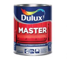Эмаль Универсальная полуматовая, Dulux Master 30 10 л (база BW)