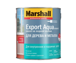 Эмаль универсальная Marshall Export Aqua Enamel 0,5 л