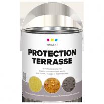 Масло антибактериальное деревозащитное Vincent Протексьон Террас 2,25 л
