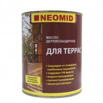 Масло для террас деревозащитное Neomid Terrace Oil 2 л (красное дерево)