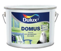 Краска для деревянных фасадов Полуглянцевая Dulux Domus 9 л (база BC)