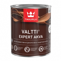 Лазурь высокоэффективная декоративно защитная Tikkurila Valtti Expert Akva 9 л (рябина)