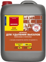 Антисоль, состав для удаления высолов концентрат Neomid 550 1 л