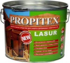 Антисептик для защиты, дерева Profilux Propitex Lasur 10 л (дуб)