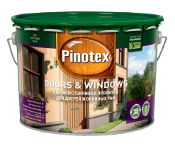 Пропитка для окон и дверей Pinotex Doors&Windows 2,7 л