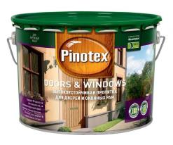 Пропитка для окон и дверей Pinotex Doors&Windows 10 л