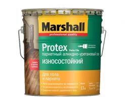 Лак паркетный Marshall Protex Parke износостойкий 0,75 л полуматовый