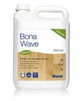 Лак глянцевый для паркета воднодисперсионный двухкомпонентный Bona Wave 5 л