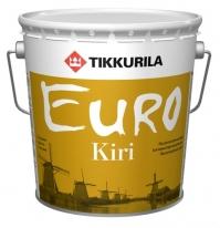 Лак паркетный полуматовый Tikkurila Finncolor Euro Kiri 9 л