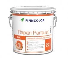 Лак для пола, глянцевый Tikkurila Finncolor Rapan Parquet 9 л