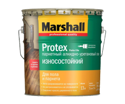 Лак паркетный Marshall Protex Parke Износостойкий 2,5 матовый