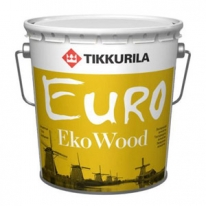 Антисептик для дерева Tikkurila Finncolor Eko Wood 9 л (красный)