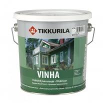 Антисептик кроющий водоразбавляемый полуматовый Tikkurila Винха / Vinha 9 л (база А)